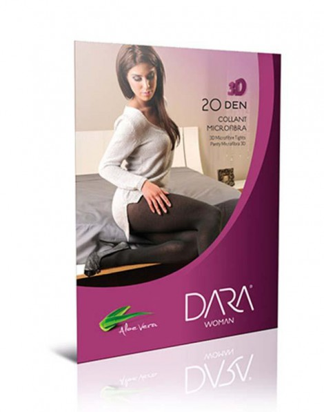 COLLANT MICROFIBRA 3D 20 DEN CS 0823 DARA