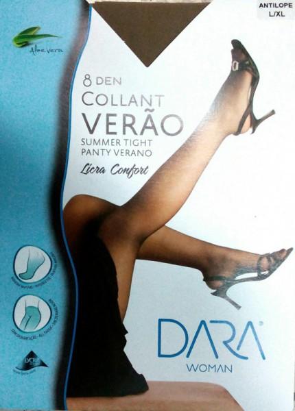 COLLANT LYCRA SEDA SEM DEMARCAÇÃO CL 0698 DARA