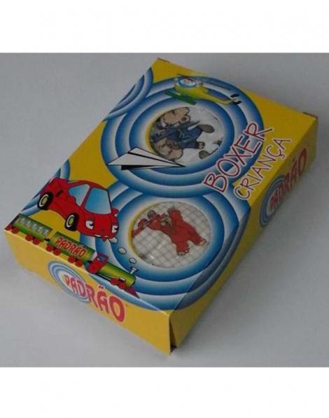 BOXER ALGODÃO CRIANÇA BX 0400 PADRÃO