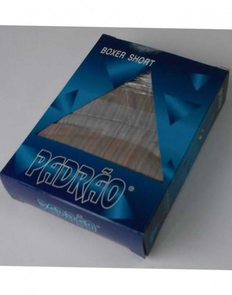 BOXER HOMEM POPELINE XADREZ BX 0198 PADRÃO