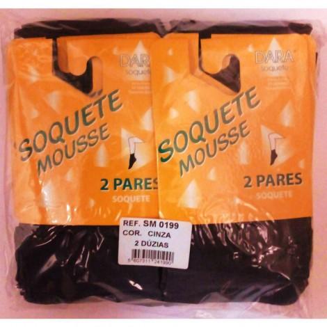 SOQUETE MOUSSE PACK 2 PARES SM 0199 DARA