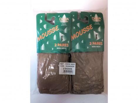 MINI MEIA MOUSSE PACK 2 MMM 0001 DARA