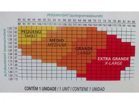 COLLANT CLÁSSICA FINA DEDOS LIVRES 5765-001 LUPO
