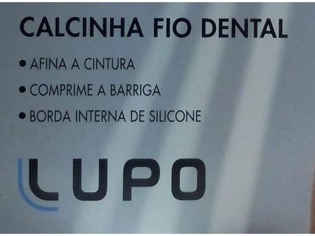 CALCINHA FIO DENTAL LOBA SLIM 5701-001 LUPO