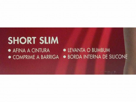 SHORT SLIM FIO EMANA 5691-001 LUPO