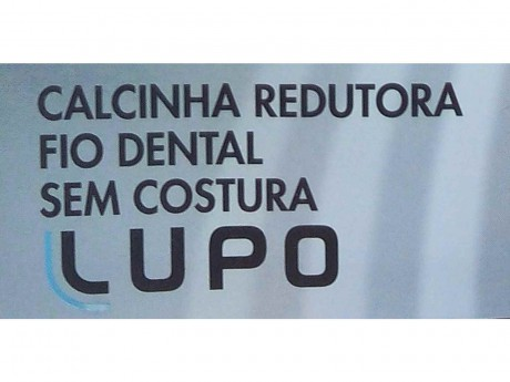 CALCINHA REDUTORA FIO DENTAL SEM COSTURA LOBA SLIM 41010-001 LUPO